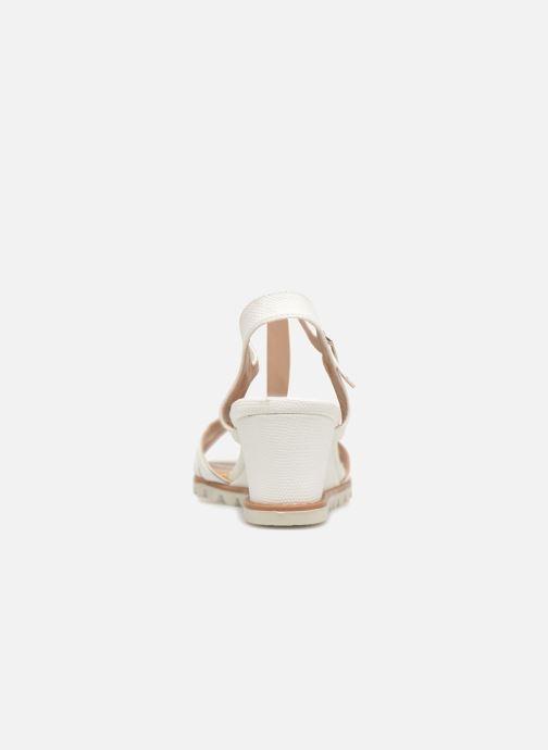 Sandales et nu-pieds Initiale Paris ROMANE Blanc vue droite