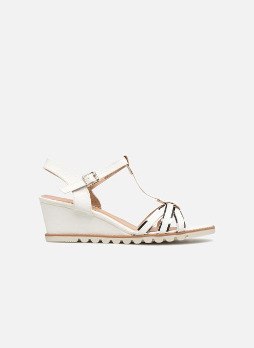 Sandales et nu-pieds Initiale Paris ROMANE Blanc vue derrière