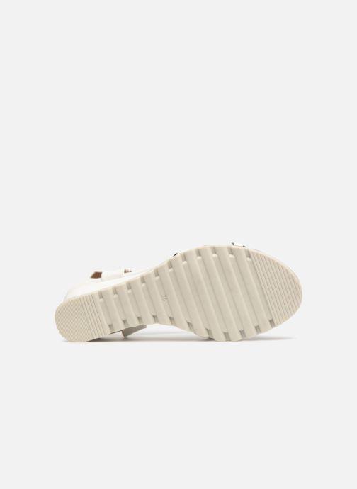 Sandales et nu-pieds Initiale Paris ROMANE Blanc vue haut