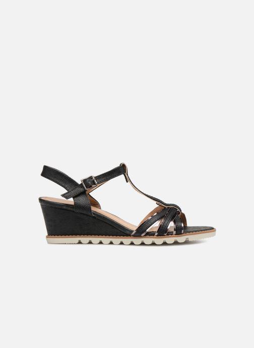 Sandalen Initiale Paris ROMANE schwarz ansicht von hinten