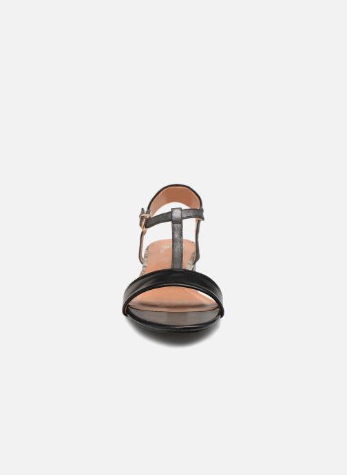 initiale paris roussia noir sandales et nu pieds chez sarenza 336747. Black Bedroom Furniture Sets. Home Design Ideas