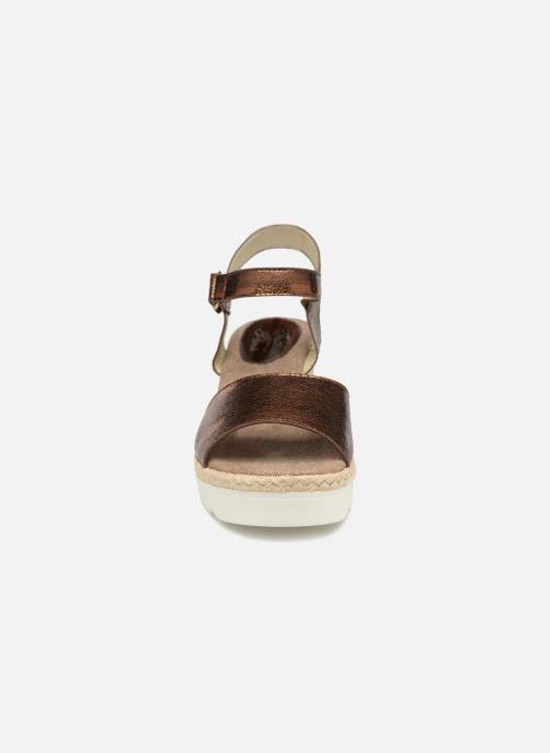 initiale paris sande or et bronze sandales et nu pieds chez sarenza 336750. Black Bedroom Furniture Sets. Home Design Ideas