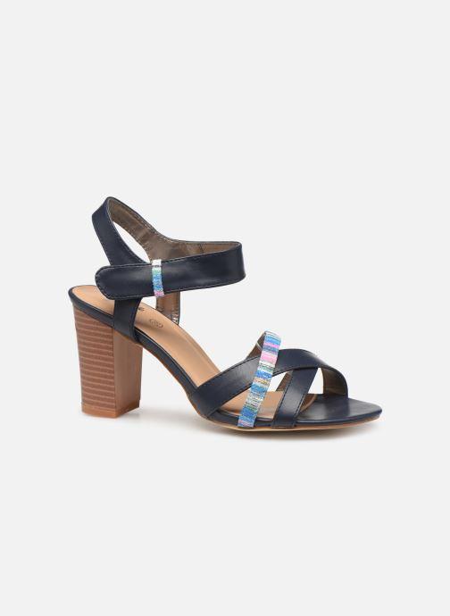 Sandales et nu-pieds Initiale Paris SCARLET Noir vue derrière