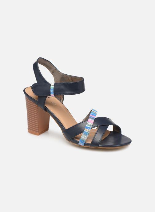 Sandaler Initiale Paris SCARLET Sort detaljeret billede af skoene