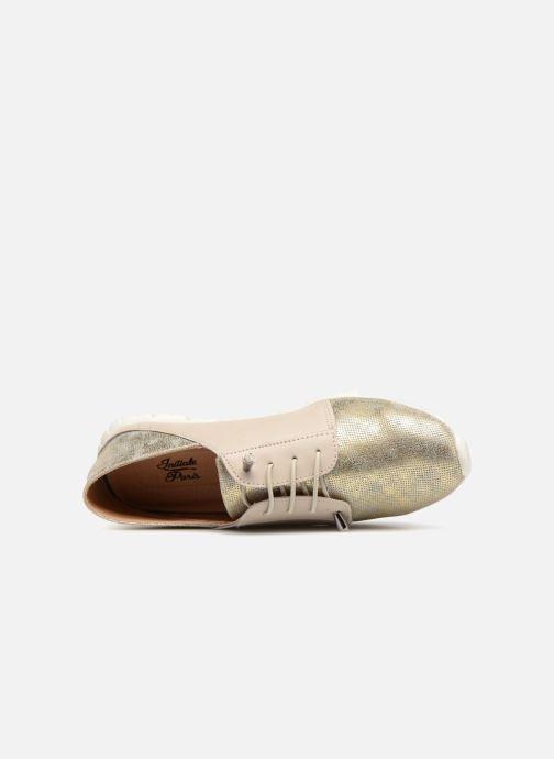 Sneakers Initiale Paris SHELCY Beige immagine sinistra