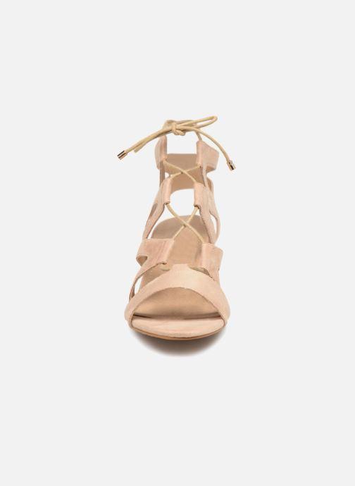 Sandales et nu-pieds Initiale Paris SORENTO Beige vue portées chaussures