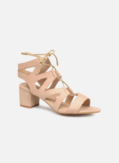 Sandaler Initiale Paris SORENTO Beige detaljeret billede af skoene