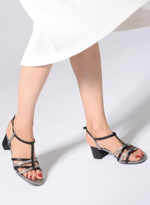 Sandalen Initiale Paris TANIA Zwart onder