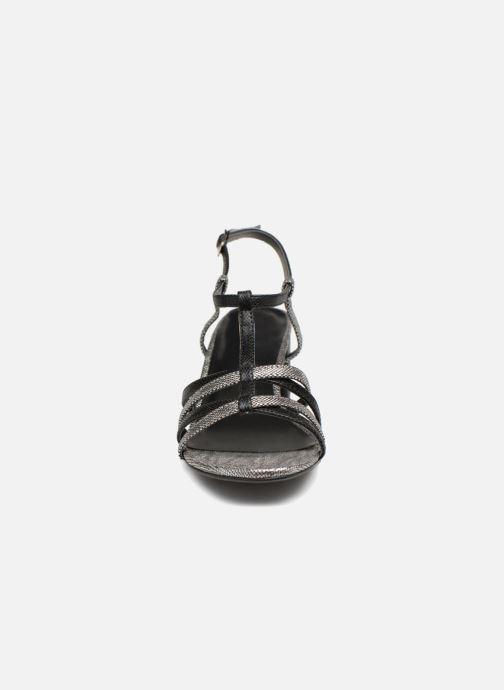 Sandales et nu-pieds Initiale Paris TANIA Noir vue portées chaussures