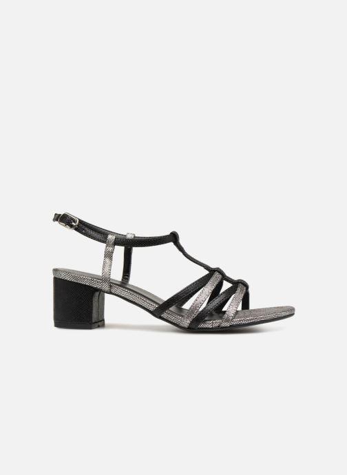 Sandales et nu-pieds Initiale Paris TANIA Noir vue derrière