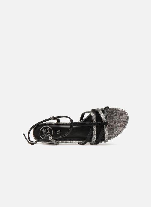 Sandales et nu-pieds Initiale Paris TANIA Noir vue gauche