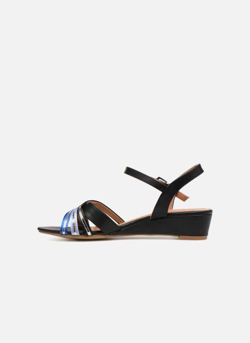 Sandales et nu-pieds Initiale Paris TILIZ Noir vue face