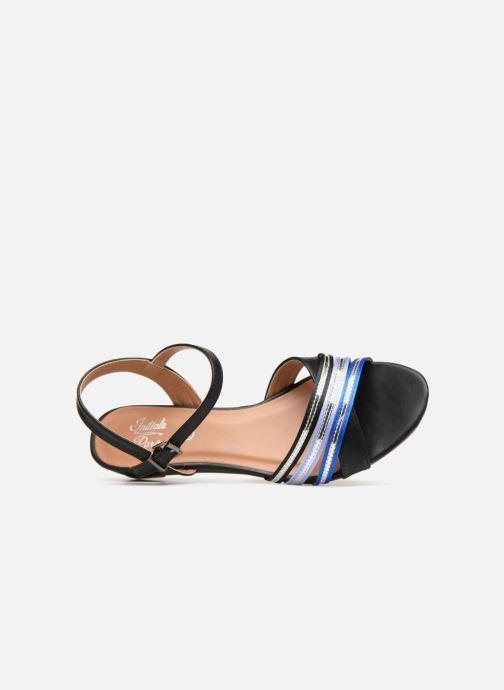 Sandales et nu-pieds Initiale Paris TILIZ Noir vue gauche