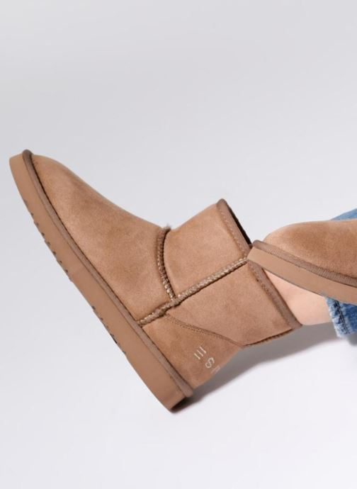 Ankle boots Esprit UMA BOOTIE 2 Brown view from underneath / model view