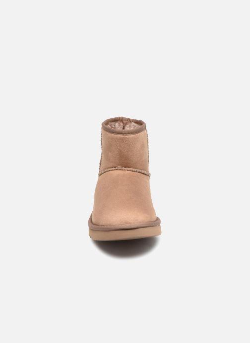 Bottines et boots Esprit UMA BOOTIE 2 Marron vue portées chaussures