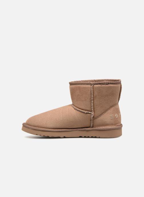 Bottines et boots Esprit UMA BOOTIE 2 Marron vue face