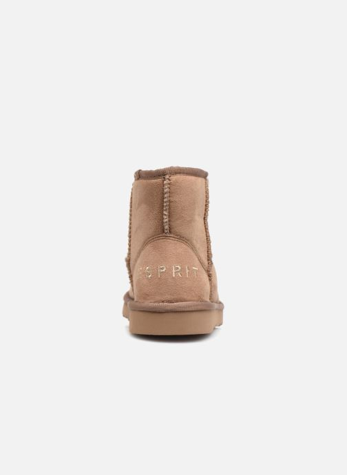 Ankle boots Esprit UMA BOOTIE 2 Brown view from the right