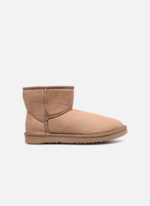 Ankle boots Esprit UMA BOOTIE 2 Brown back view