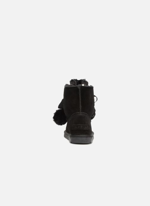 Ankle boots Esprit LUNA TOGGLE Black view from the right