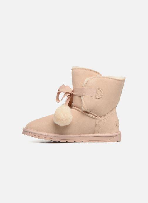 Stiefeletten & Boots Esprit LUNA TOGGLE beige ansicht von vorne
