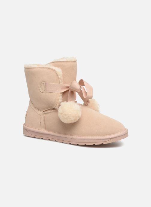 Stiefeletten & Boots Esprit LUNA TOGGLE beige detaillierte ansicht/modell