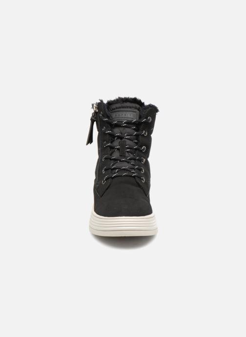 Bottines et boots Esprit LUNI BOOTIE Noir vue portées chaussures