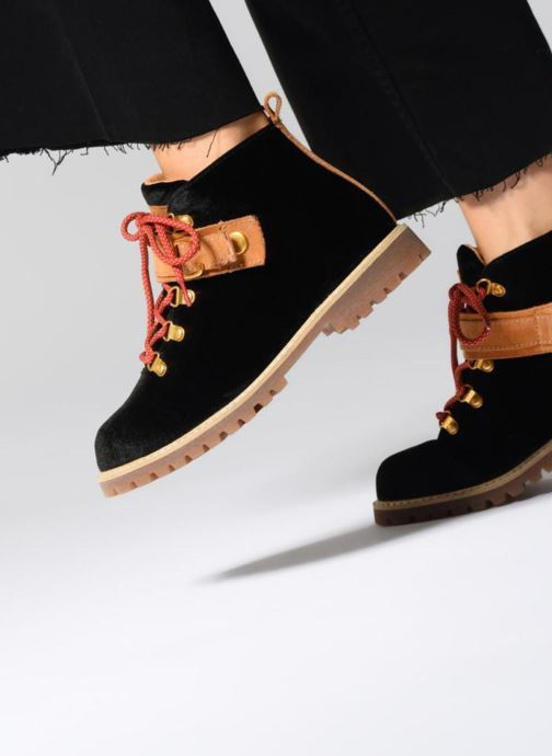 Noir chez LANDY VELHIKE Sarenza et Bottines boots 336775 Esprit 6xYwzgY