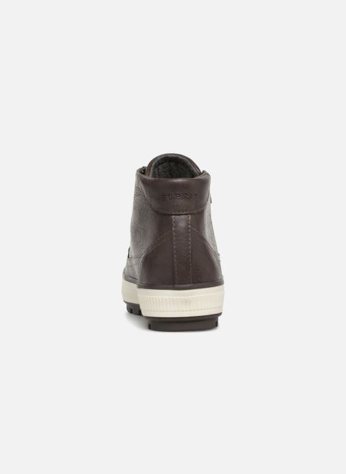 Trainers Esprit FILO ZYP BOOTIE Grey view from the right