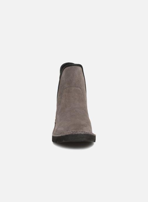 Stiefeletten & Boots Esprit OKOA CHELSEA grau schuhe getragen