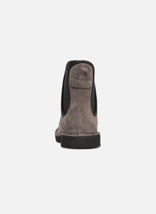 Ankle boots Esprit OKOA CHELSEA Grey view from the right