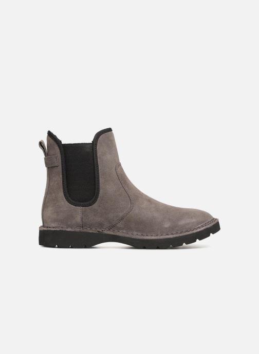 Stiefeletten & Boots Esprit OKOA CHELSEA grau ansicht von hinten