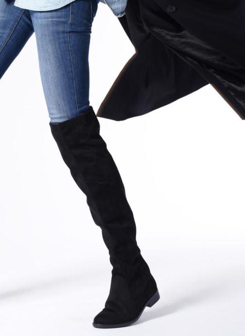 Boots & wellies Esprit STEVY OVERKNEE Black view from underneath / model view
