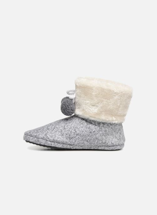 Slippers Esprit DONI TOGGLE Grey front view
