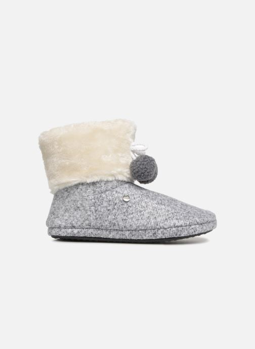 Slippers Esprit DONI TOGGLE Grey back view
