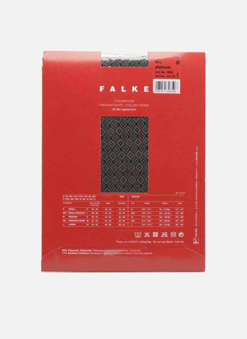 Chaussettes et collants Falke Collant MME BUTTERFLY 50 Denier Gris vue portées chaussures