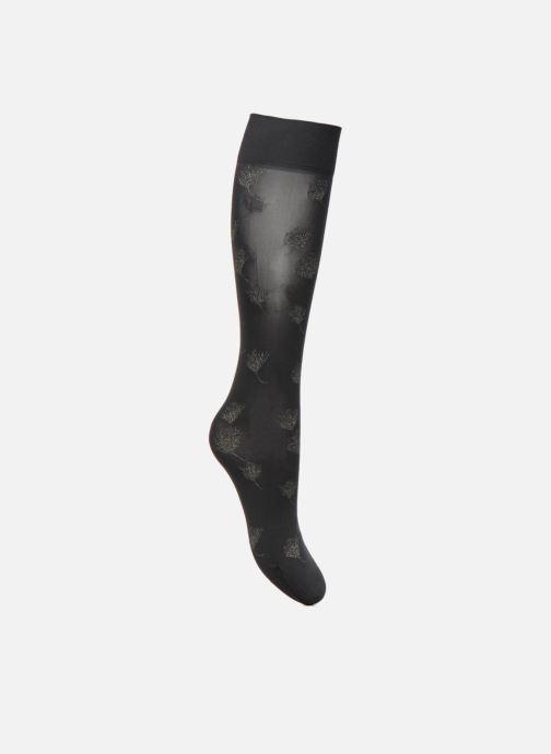 Sokken en panty's Falke Mi-Bas PISTIL 30 Denier Zwart voorkant