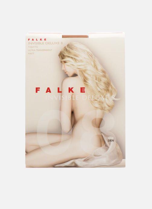 Strumpor och strumpbyxor Falke Collant INVISIBLE DELUXE 8 Denier Beige detaljerad bild på paret