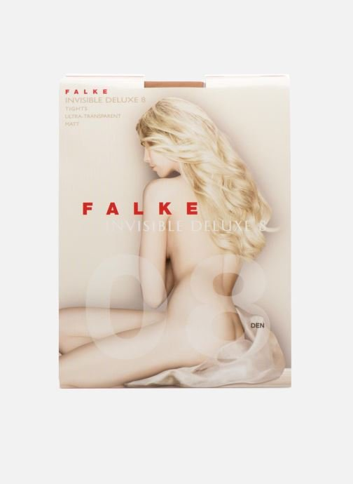 Sokken en panty's Falke Collant INVISIBLE DELUXE 8 Denier Beige detail