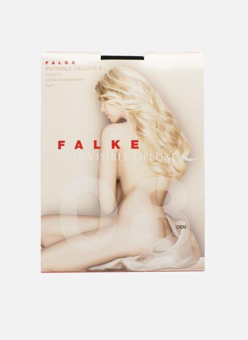 Strumpor och strumpbyxor Falke Collant INVISIBLE DELUXE 8 Denier Svart detaljerad bild på paret