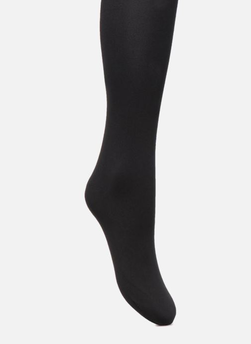 Socks & tights Falke Collant WARM DELUXE 80 Black front view