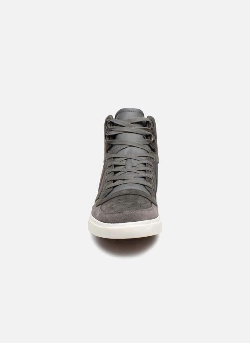Sneaker Hummel Stadil Winter grau schuhe getragen