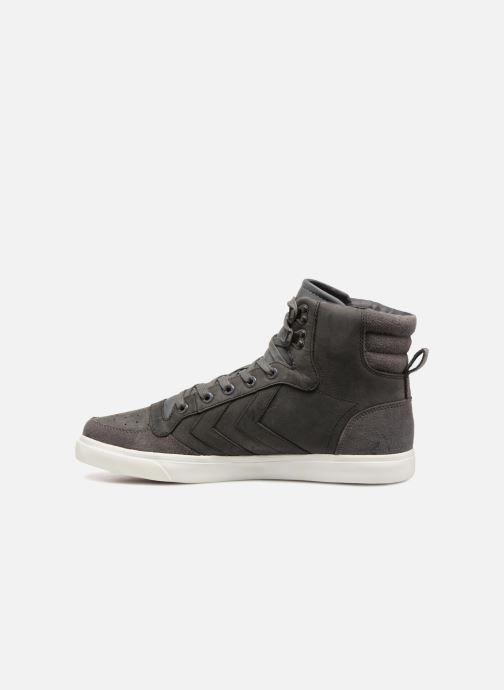 Sneaker Hummel Stadil Winter grau ansicht von vorne