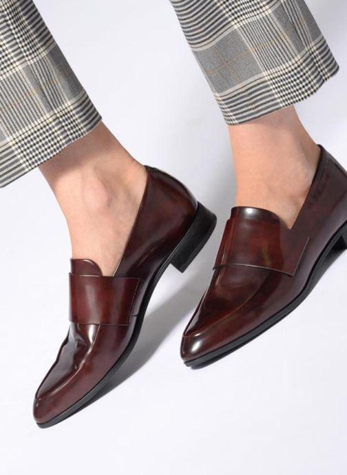Slipper Vagabond Shoemakers France 4406-004 weinrot ansicht von unten / tasche getragen