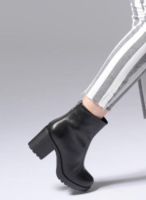 Botines  Vagabond Shoemakers Grace 4628-001 Negro vista de abajo