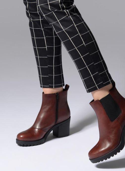 Bottines et boots Vagabond Shoemakers Grace 4228-101 Bordeaux vue bas / vue portée sac