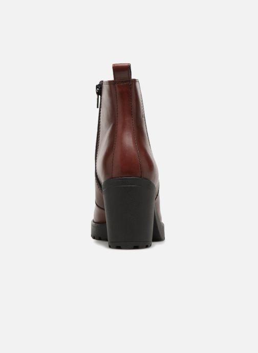Botines  Vagabond Shoemakers Grace 4228-101 Vino vista lateral derecha