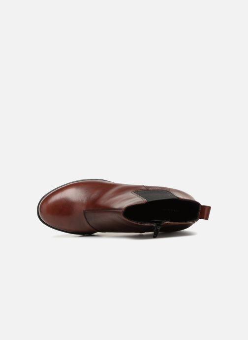 Botines  Vagabond Shoemakers Grace 4228-101 Vino vista lateral izquierda