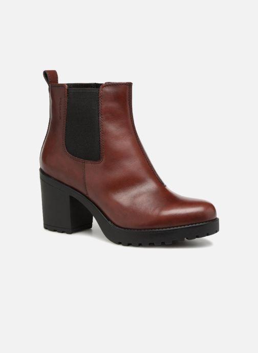 Botines  Vagabond Shoemakers Grace 4228-101 Vino vista de detalle / par