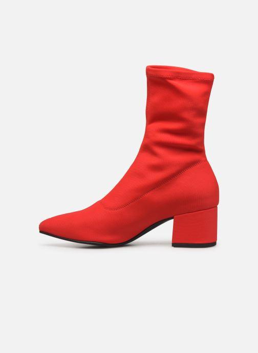 Botines  Vagabond Shoemakers Mya 4319-539 Rojo vista de frente