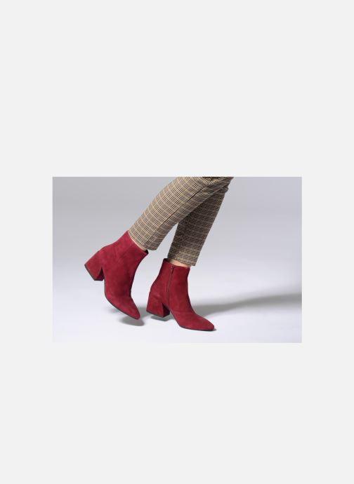 Stiefeletten & Boots Vagabond Shoemakers Olivia 4217-040 weinrot ansicht von unten / tasche getragen